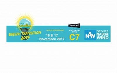 Nass&Wind Groupe : présent au Salon Breizh Transition 2017