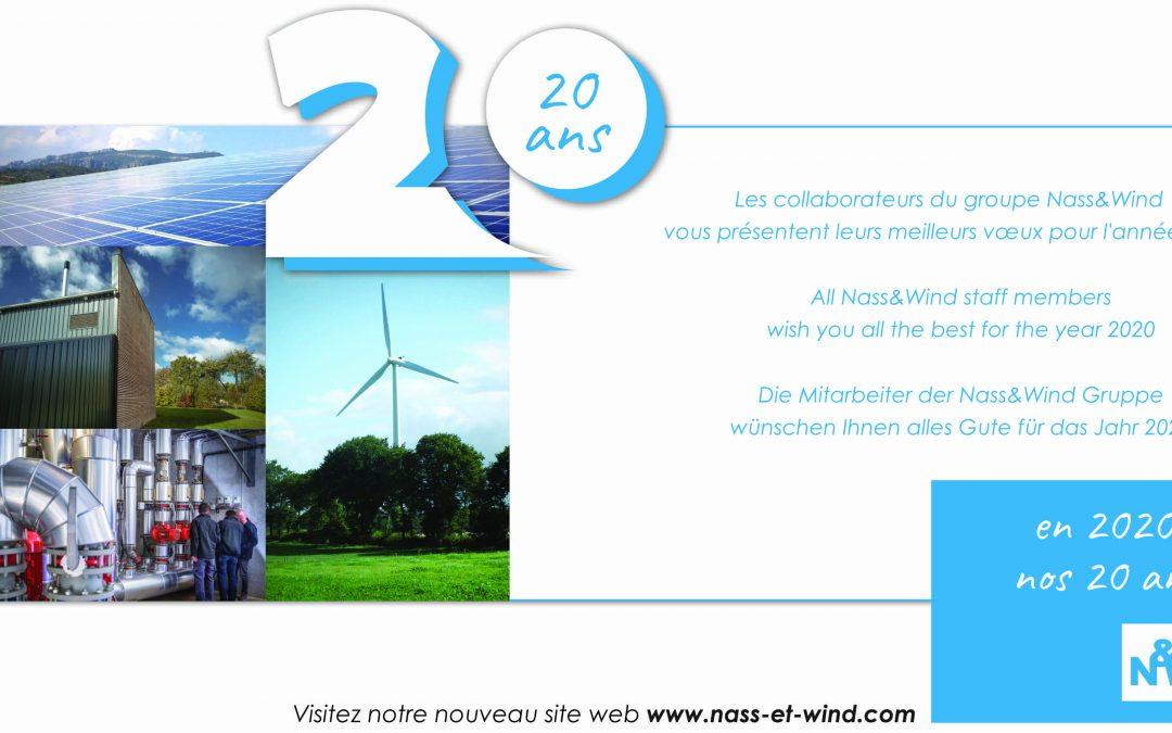 Nass&Wind vous souhaite une excellente année 2020!
