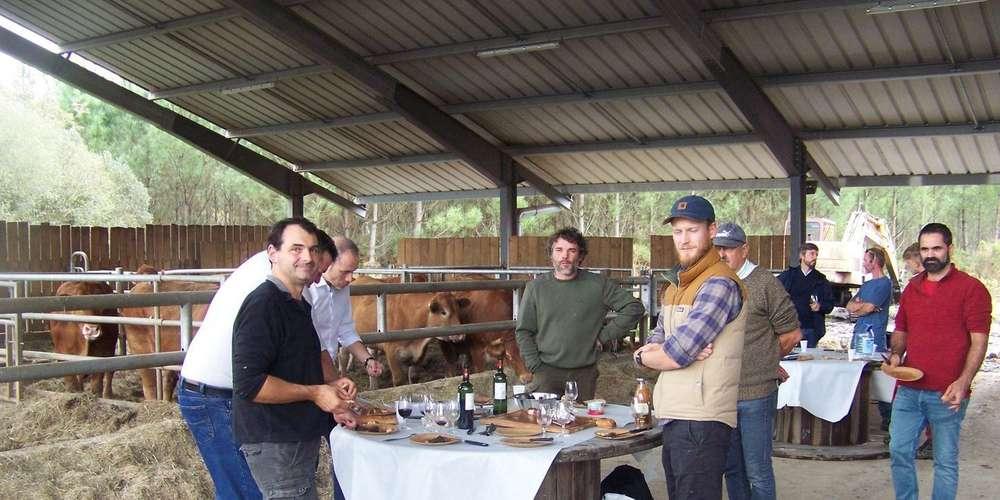 Article Sud Ouest : Médoc, le photovoltaïque chez les agriculteurs